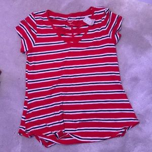 maurice's striped shirt